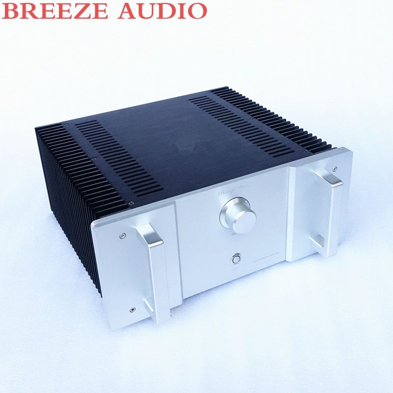 Breeze audio 1969 amplifier aluminum chassis update version(aluminum enclosure) only case