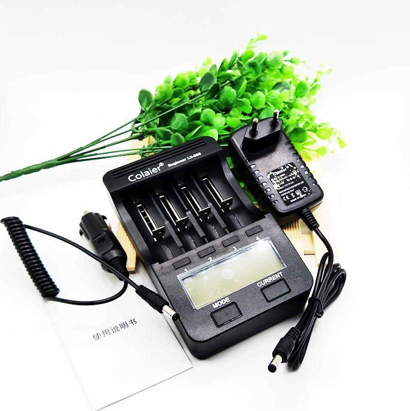 Colaier lii-500 LCD 3,7 V/1,2 V 18650/26650/16340/14500/10440/18500 Ladegerät 100% der ursprünglichen fabrik lii500