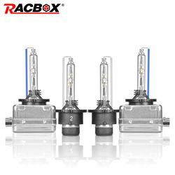Racbox пара HID лампы D1S D1R D2S D2R D3S D3R D4S D4R ксеноновая лампа Глобус огни 35 Вт 3000 К 4300 К 5000 К 6000 К 8000 К 10000 К 12000 К