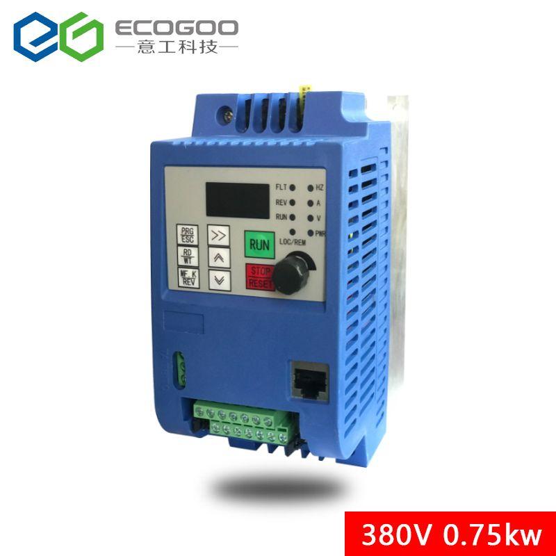 0.75KW/1.5KW/2.2KW/3KW/4KW/5.5KW/7.5KW 3-phase inverter ausgang 3- phase Frequenz Konverter Einstellbare Geschwindigkeit 380VAC Variable
