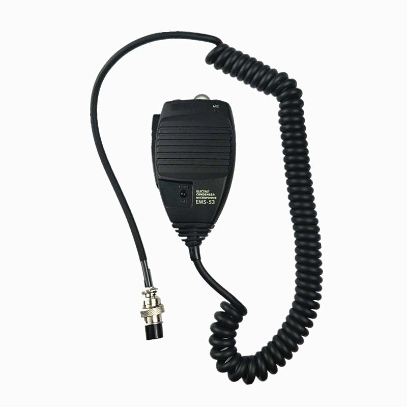 Radio Microphone EMS-53 8pin DTMF Handheld Mic for Alinco DR-03 DR-06 DR-135 DR-235 DR-435 DR-635 Radio