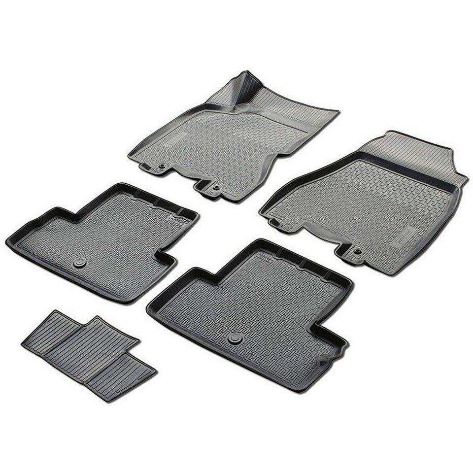 3D boden matten in saloon für Nissan X-Trail T31 2011-2014 5 teile/satz (Rivalen 14109002)