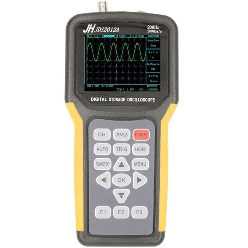 Digital Handheld Clamp Multimeter Tester Meter Oscilloscope Scope Meter Sample Rate Oscilloscope Digitale Logic Analyzer