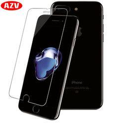 AZV Écran Protecteur Pour iPhone 5 5S SE 6 6 s 7 8 X Verre Film Ultra-mince En Verre Trempé Pour iPhone 6 6 s 7 8 Plus X 5 SE 10 Verre