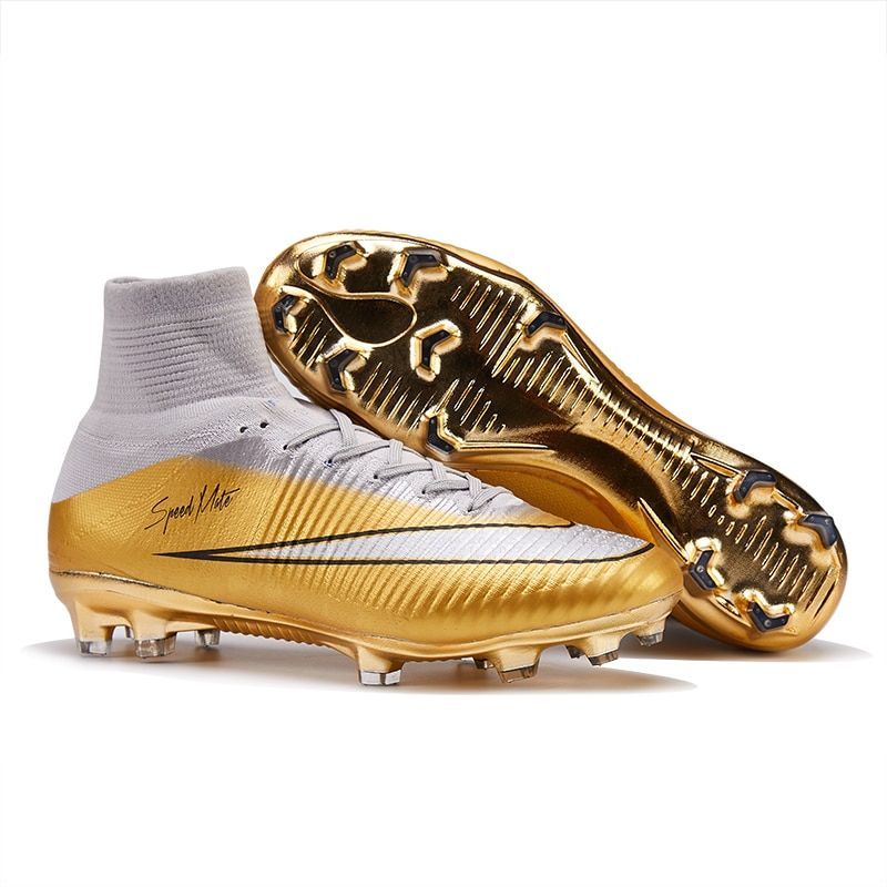 New Arrival Multicolor Soccer Shoes Men Kids FG Superfly Outdoor Kids Football Boots Turf High Ankle Original Cleats Wholesale