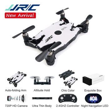 JJRC JJR/C H49 SOL Ultra-Mince Wifi FPV Selfie Drone 720 P Caméra Auto Pliable Bras Maintien D'altitude RC Quadcopter VS H37 H47 E57