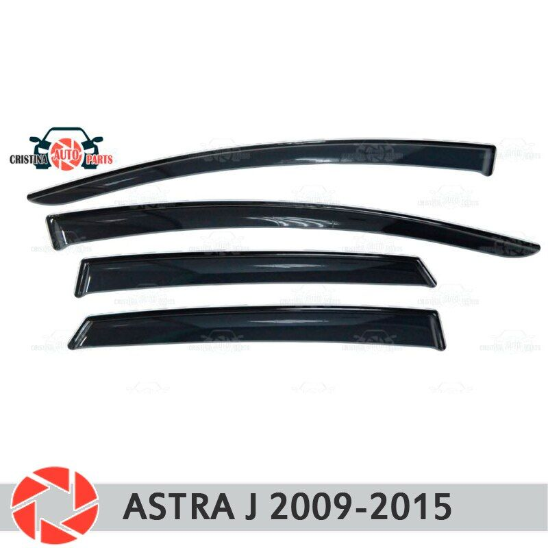 Fenster deflektor für Opel Astra J 2009-2015 regen deflektor schmutz schutz auto styling dekoration zubehör molding