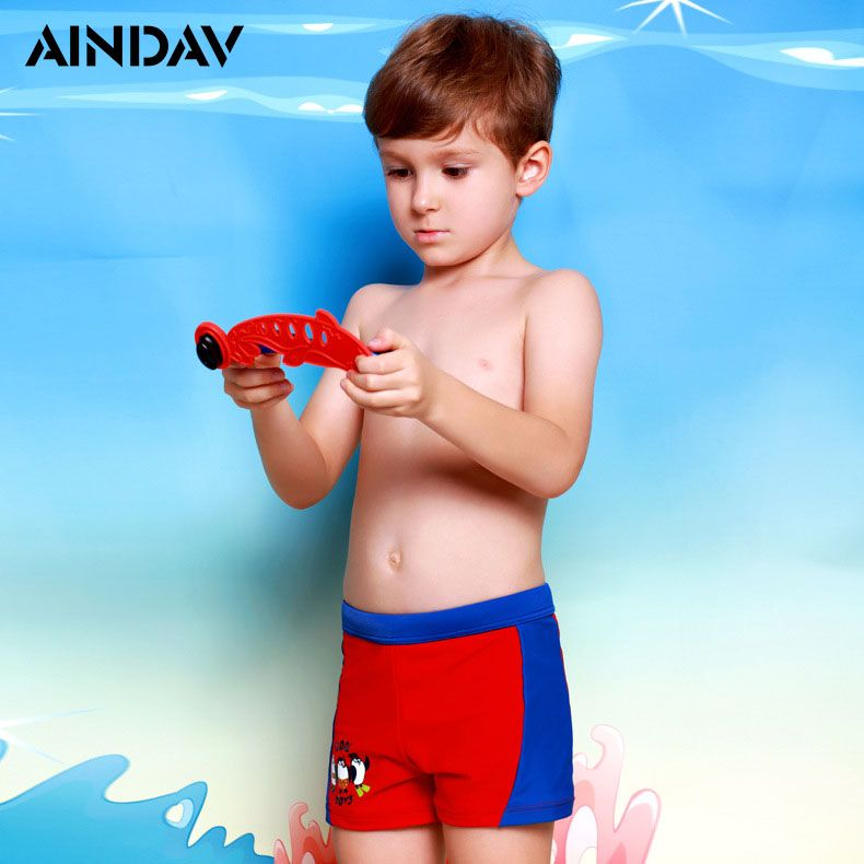2018 New Children Swimwear Boys Swim Trunks Boxer Shorts Baby Cartoon Sports Swimsuit Briefs Kids Swimsuits Bathing Suits