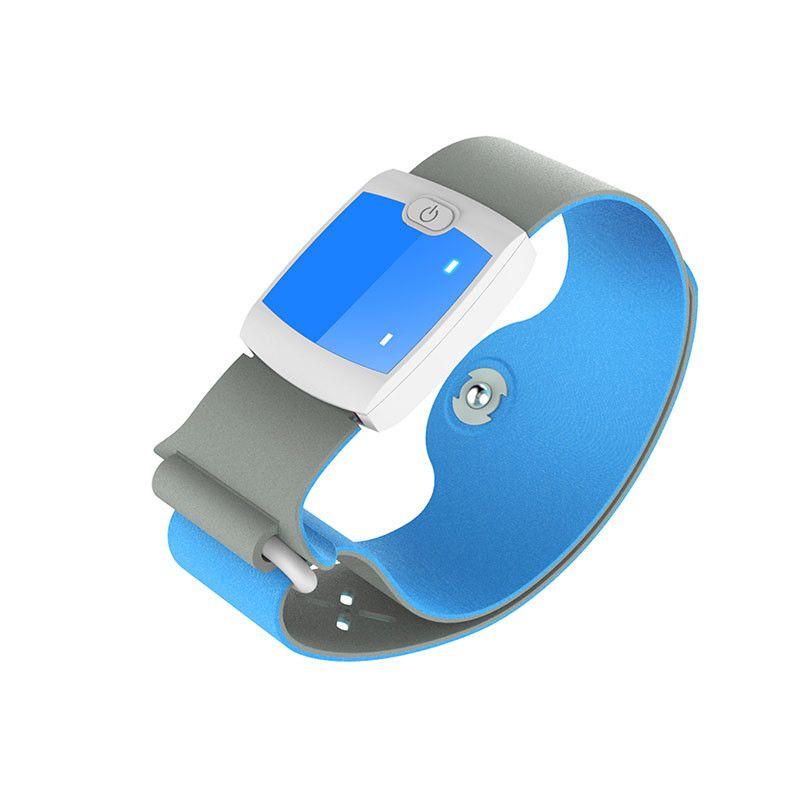 Kinco дети Bluetooth 4.0 24HR непрерывной лихорадка монитор Smart термометр медицинский браслет с мобильного предупреждения для малышей