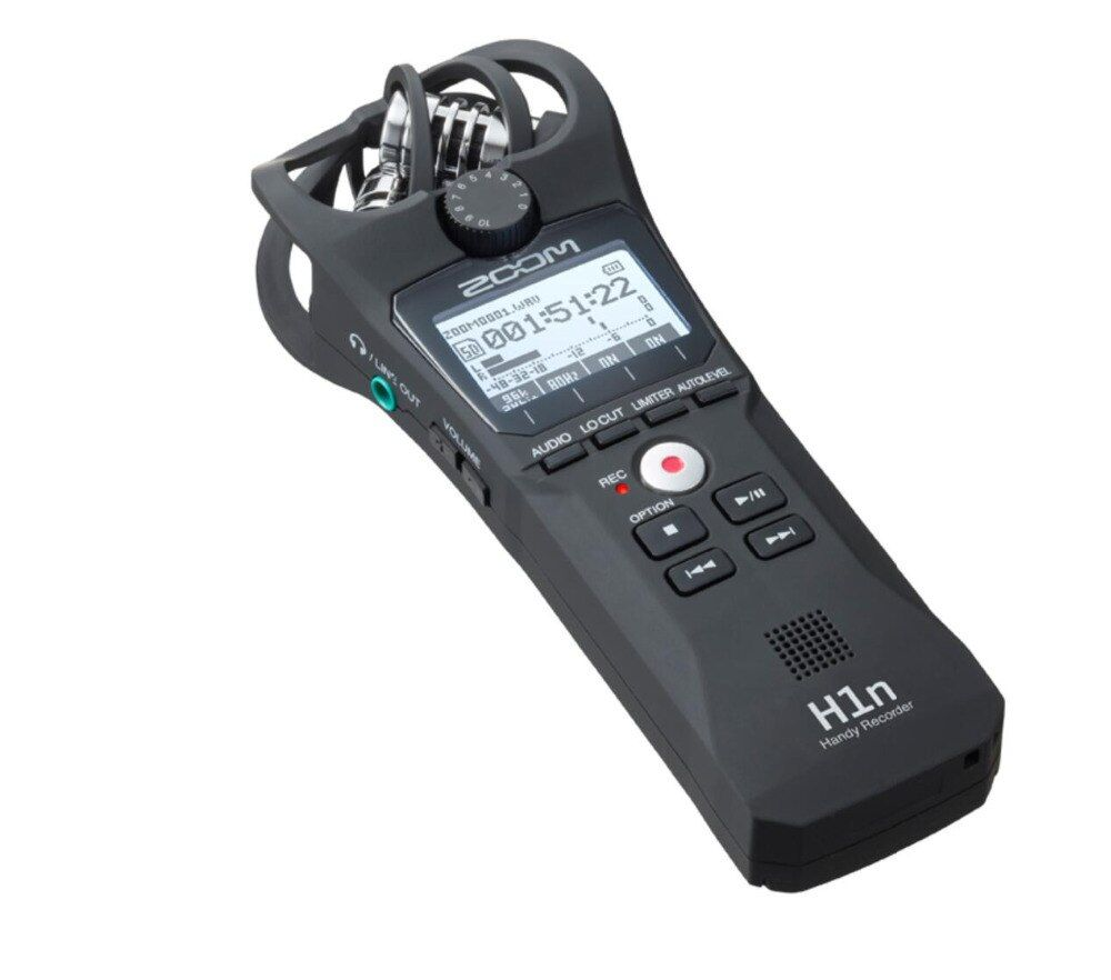 W989 ZOOM H1 digital professional voice music meeting mp3 recorder SLR micro audio sound recording USB microphone function