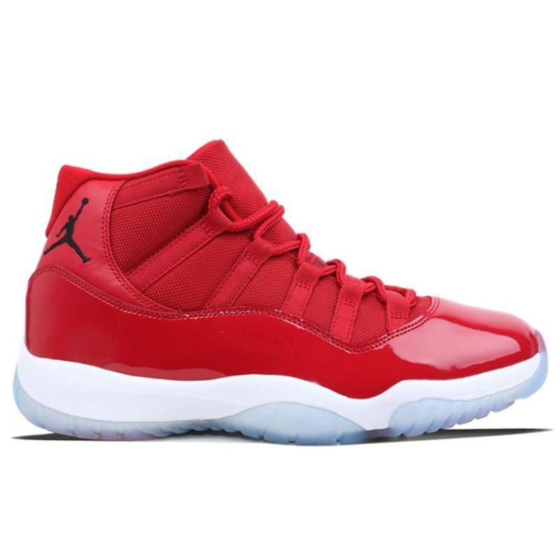 2018 Jordan Brand Air Retro 11 XI 11S Gym Red Win Like 96 Chicago UNC Midnight Navy Blue Athletic Outdoor Sport Sneakers 41-46