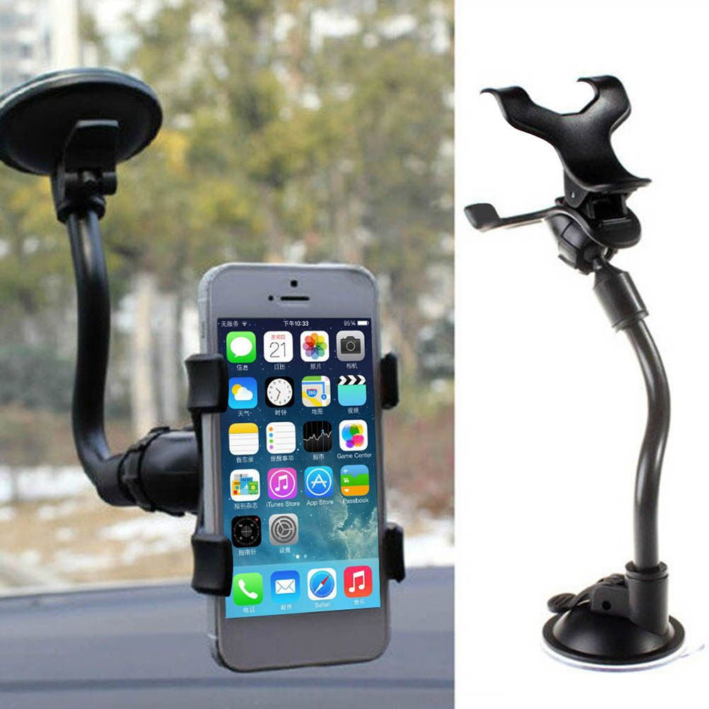 Bracket Soft Tube Mobile Phone Holder Windshield Car Flexible Mount Stand