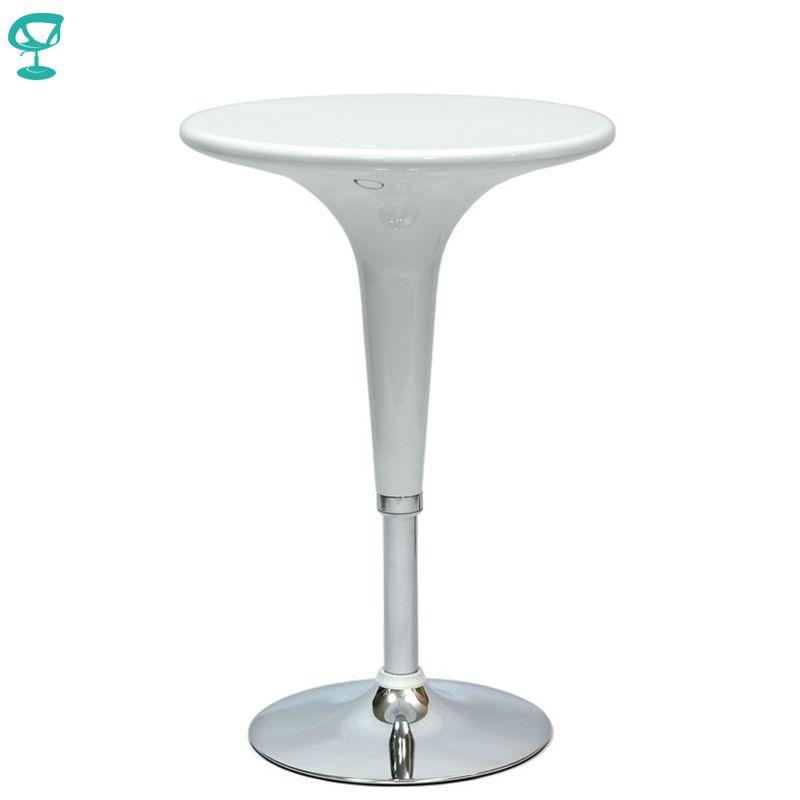 94917 Barneo T-1 Kunststoff hohe Frühstück Innen Tisch Bar Tisch Küche Möbel Esstisch Weiß kostenloser versand in Russland