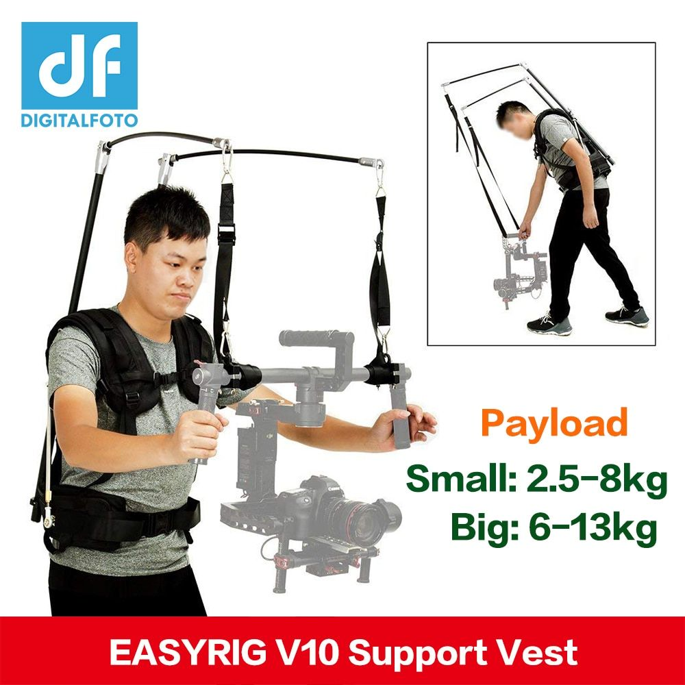 V10 Like EASYRIG READYRIG gimbal Support vest stabilizer for video film dslr DJI Ronin M RONIN S Crane 2 Crane Plus VS Atlas