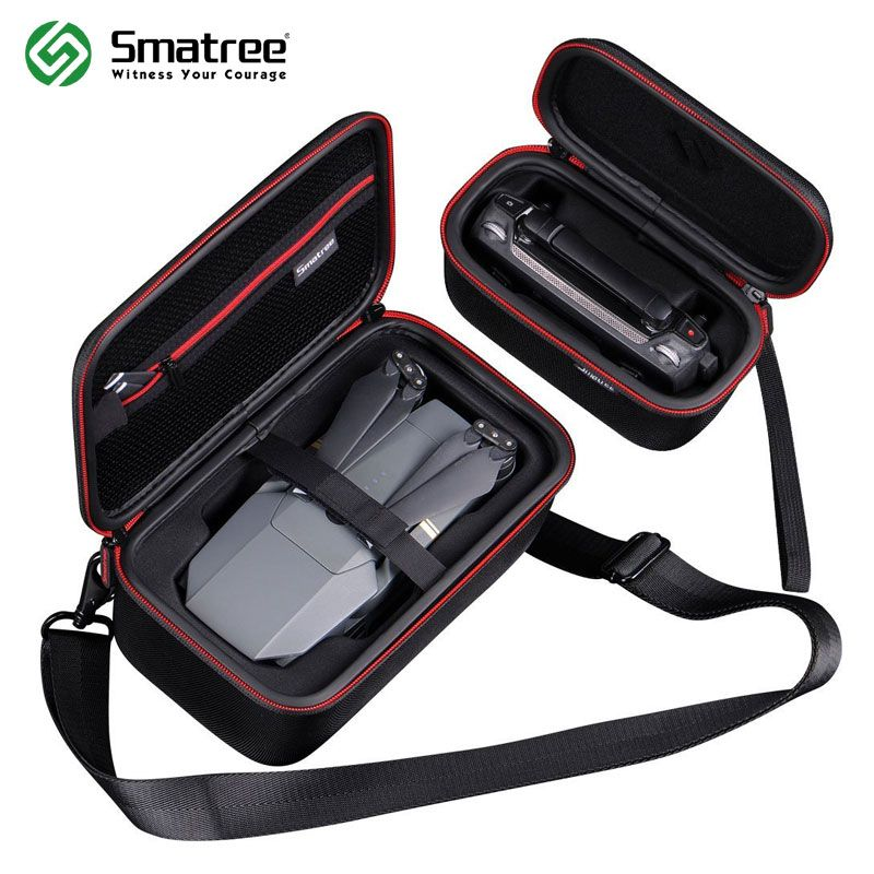 Smatree Carrying Hard Case Protective Bag with Shoulder Strap for DJI Mavic Pro Drone Body and Remote Controller