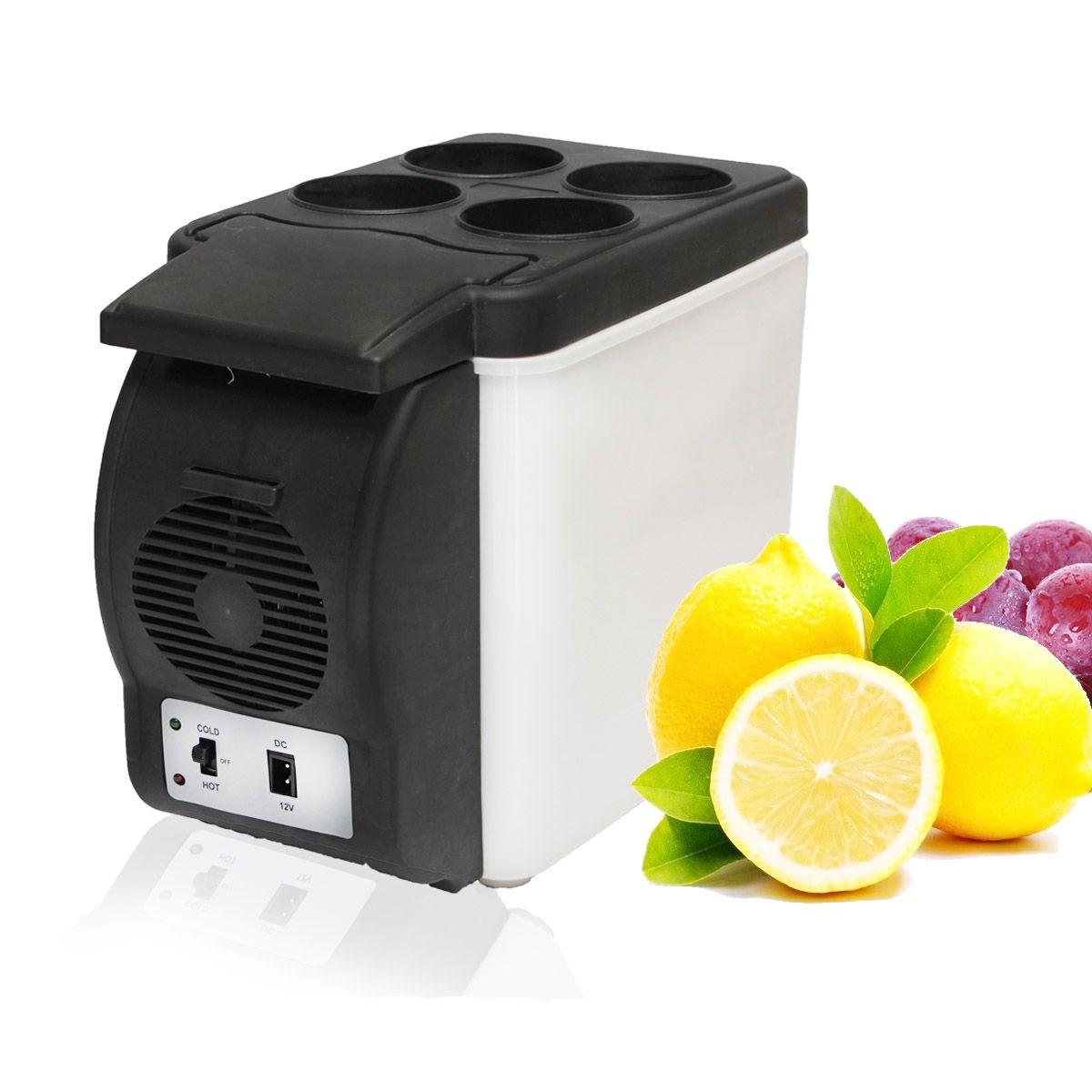 Портативный 12 В 6l авто мини-холодильник Путешествия Холодильник качество ABS Multi-Функция дома кулер морозильник теплые