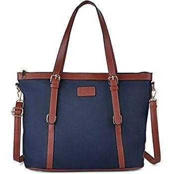 Women's Oxford Nylon Large Capacity Work Tote Shoulder Bag