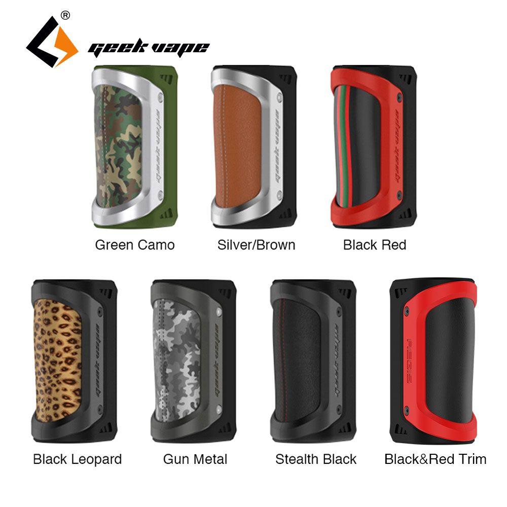Original 100W GeekVape Aegis TC Box MOD Waterproof Shockproof dustproof fit 18650/26650 Battery Electronic Cigarette vs Drag 2