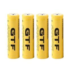 GTF 18650 аккумуляторная батарея 3,7 V 18650 9800 mAh емкость литий-ионная аккумуляторная батарея для фонарика факел батарея подарок