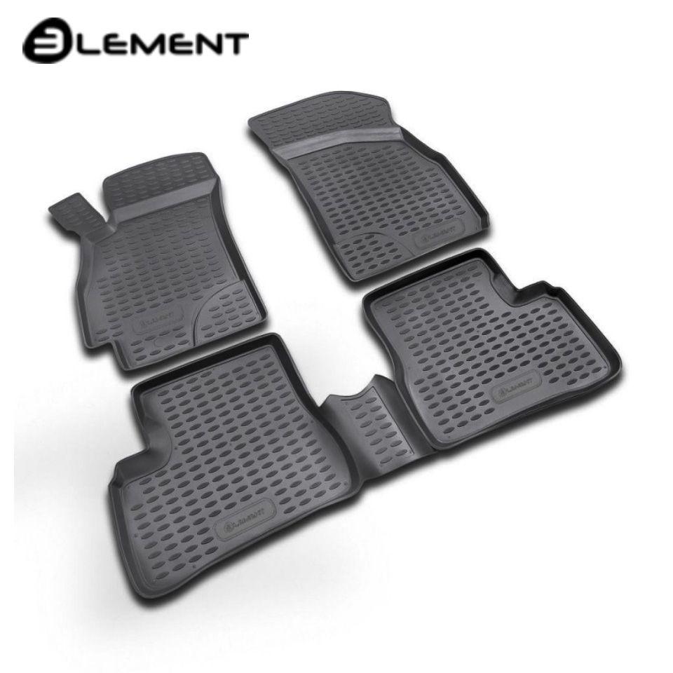 Für Hyundai Accent 2000-2005 boden matten in saloon 4 teile/satz Element NLC2006210K