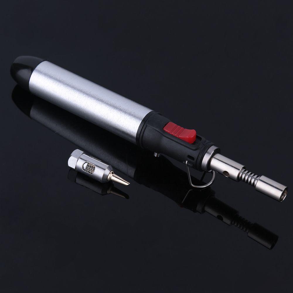 Fer à souder Portable sans fil fer à souder gaz flamme Butane 12 ml pistolet à chaleur Torches de soudage outil 1300 degrés équipement de soudage
