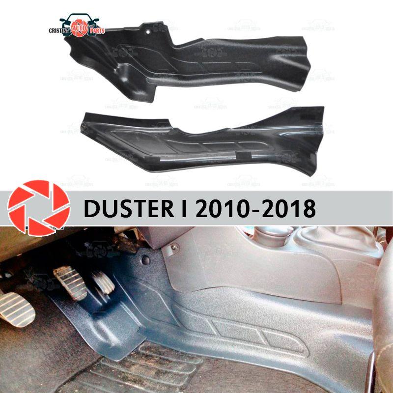 Schutz platte abdeckung von inneren tunnel für Renault Duster 2010-2018 trim zubehör schutz teppich dekoration auto styling