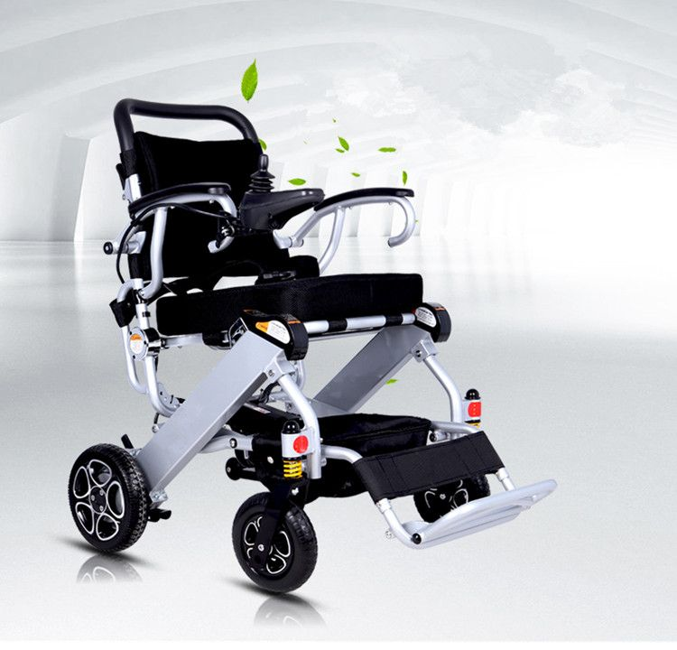 Good quality folding electric wheelchair for travel