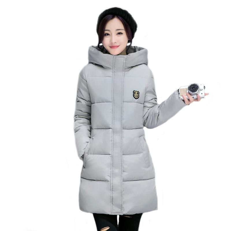 New Long Parkas Female Women Winter Coat Thickening Cotton Winter Jacket Outwear Parkas for Women Winter Outwear