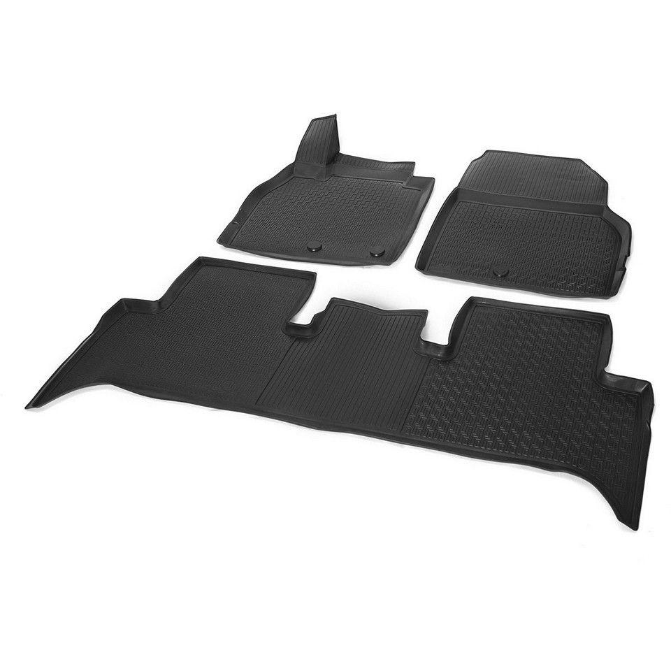 3D boden matten in saloon für Renault Scenic 2006-2010 3 teile/satz (Rivalen 14708002)
