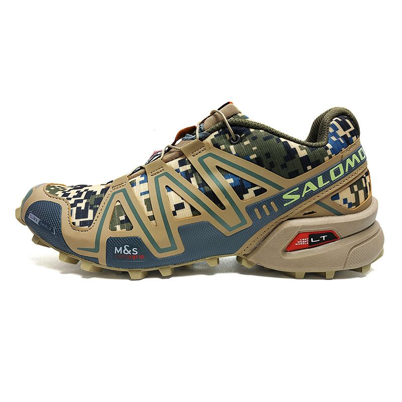 Salomon Shoes Men Speed Cross 3 CS Sneakers Men Camo Cross-country Running Shoes Male Athletic Shoes Sport shoes