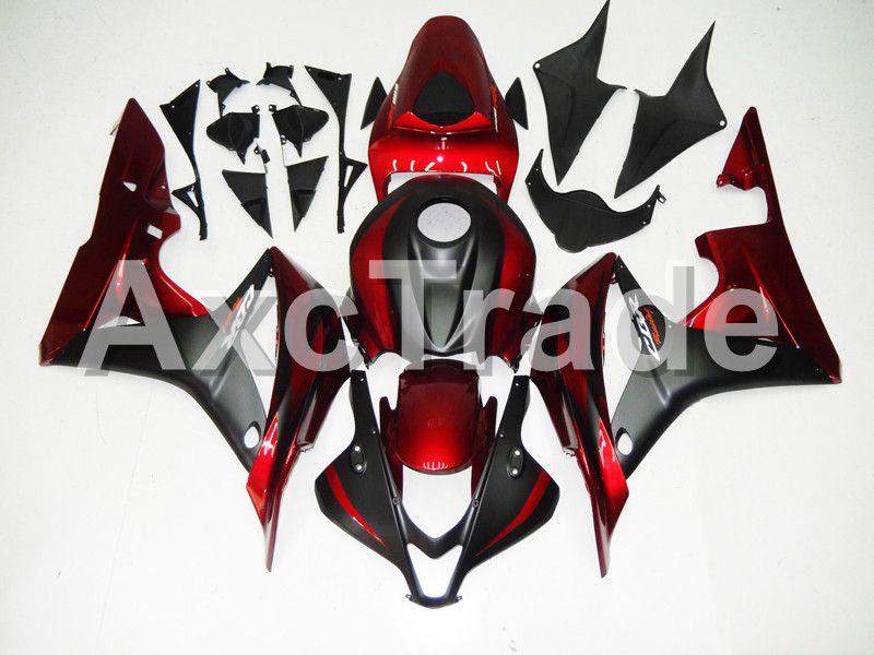 Motorcycle Fairings For Honda CBR600RR CBR600 CBR 600 RR 2007 2008 F5 ABS Plastic Injection Fairing Bodywork Kit BK Pearl Red