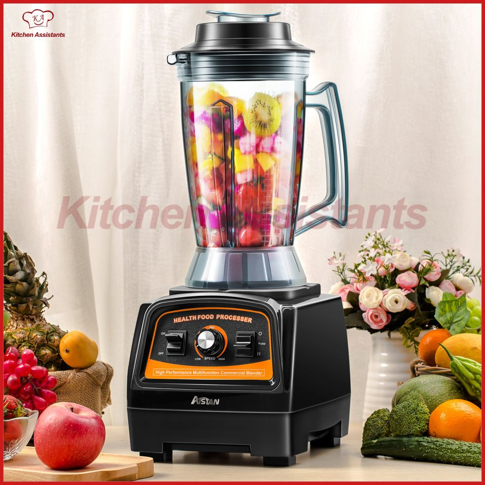 A7400 3HP BPA FREE 3.9L commercial professional smoothies powerful blender food mixer juicer with german motor 2800W