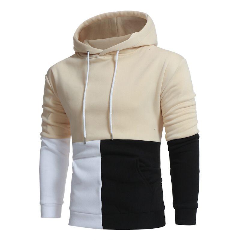 Для мужчин Уличная 2017 осень-зима Для мужчин S Толстовки кофты Мужской пуловер оверсайз человек Костюмы капюшоном Стильная хип-хоп Толстовки