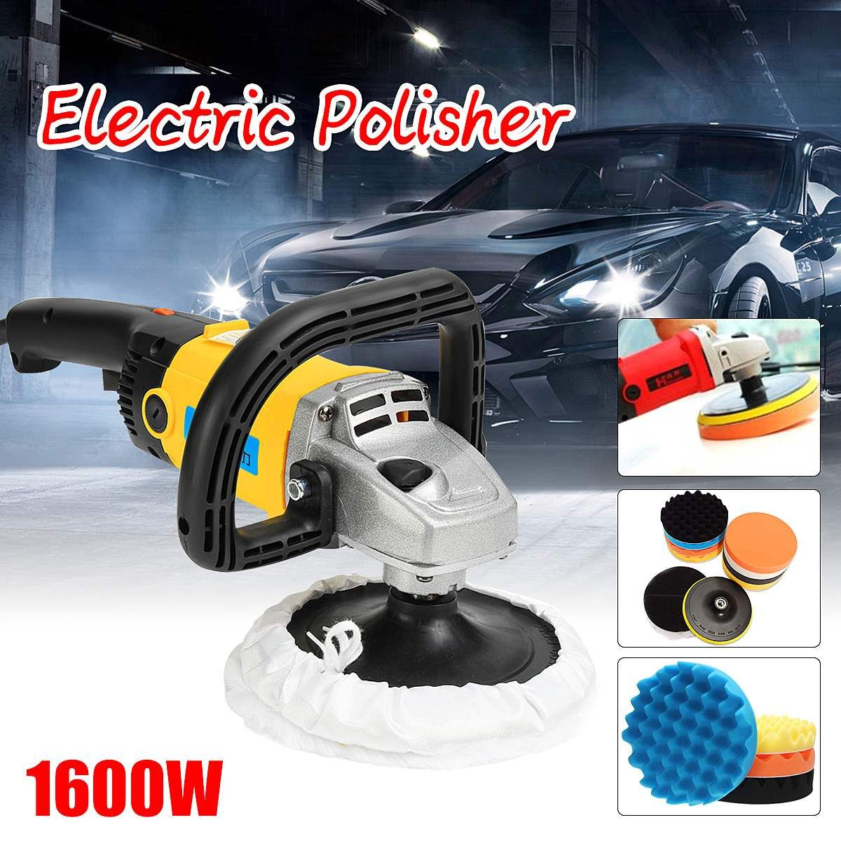 Electric Waxer 220V 1600W Polisher 1/8