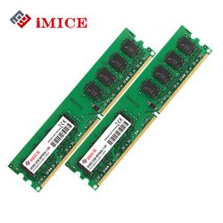 iMICE Desktop PC RAMs DDR2 4GB(2x2GB) RAM 800MHz PC2-6400S 240-Pin 1.8V DIMM For Compatible Computer Memory Warranty