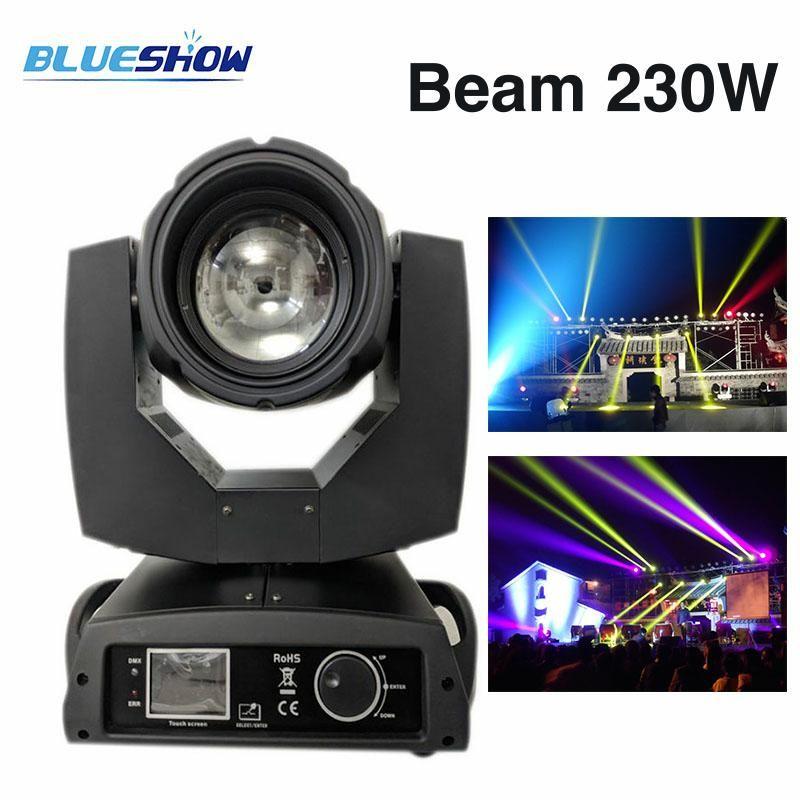 2pcs/lot, Power corn LED 230W 7R Moving Head Beam Light 16 prism 8 Sharpy Osram stage nightclub party show Disco DJ Club