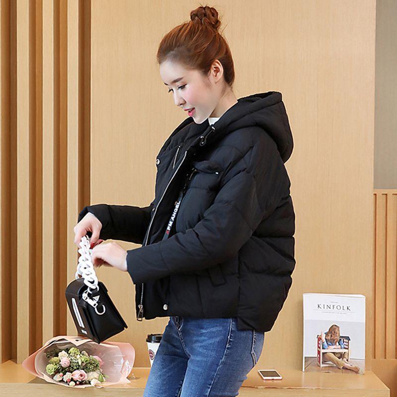 women winter hooded jacket Loose large yards outwear high quality warm Parka Overcoat Female