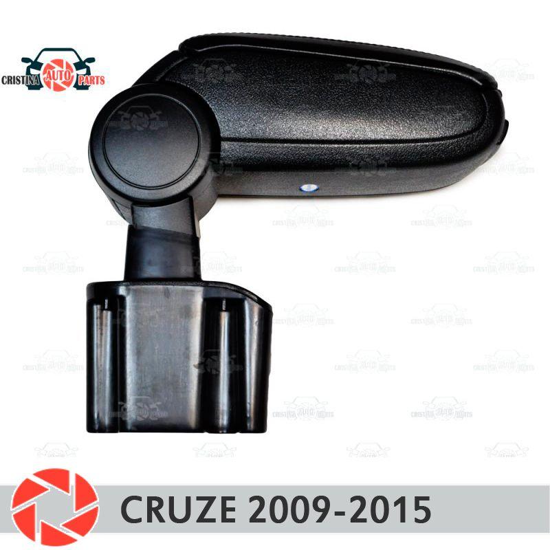 Armlehne für Chevrolet Cruze 2009-2015 auto arm rest zentrale konsole leder lagerung box aschenbecher zubehör auto styling