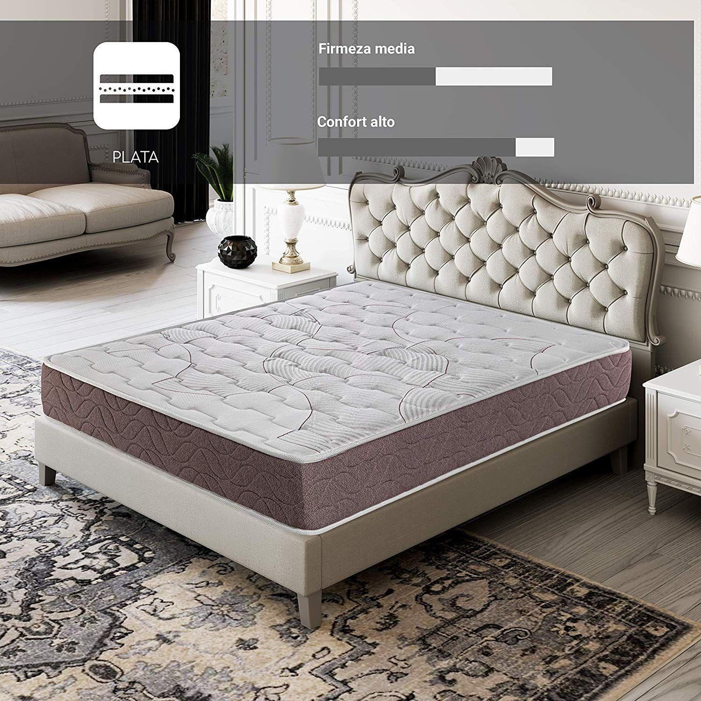 Royal Schlaf Ruhenden Plus Matratze Visco Carbono 22 CM hoch Hohe Festigkeit Halb und Anpassungsfähigkeit High-End-Möbel Schlafzimmer