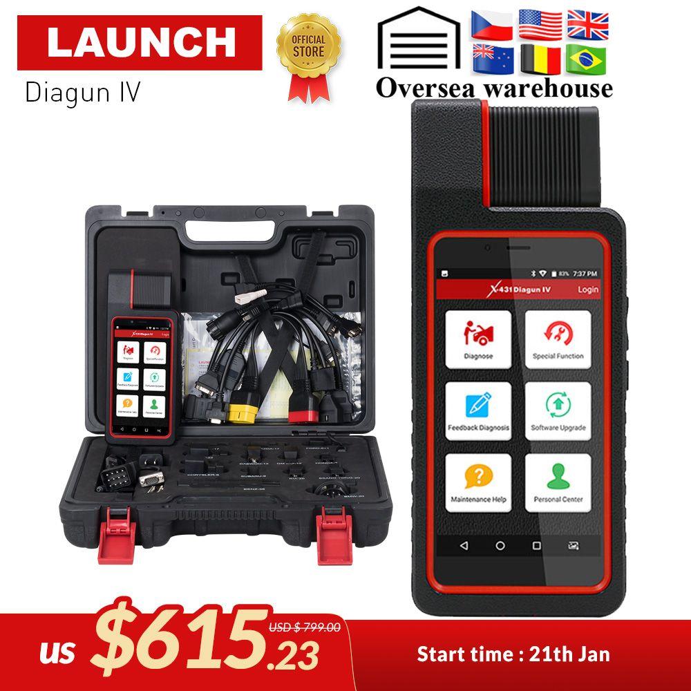 STARTEN X431 Diagun IV Auto Full System-Diagnose-Tool Unterstützung Bluetooth/Wifi mit 2 Jahr Freies Update besser als diagun iii