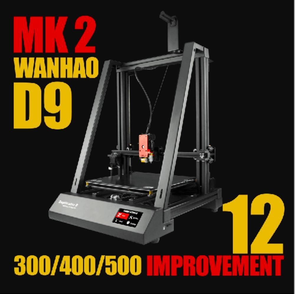 Neue 2019! Wanhao 3D Drucker Duplizierer 9 MARK II-FDM 3d drucker kaufen direkt von der fabrik