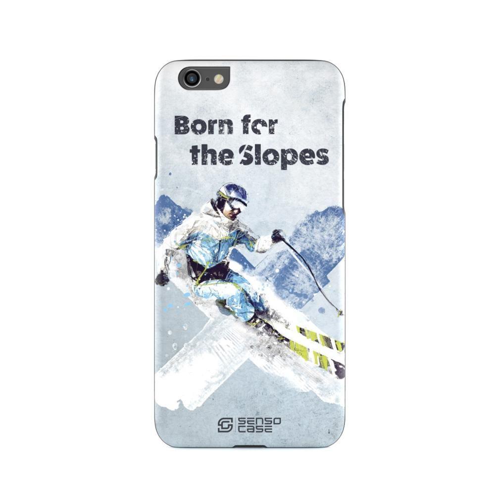 Schutzhülle SensoCase ski sport für Apple iPhone
