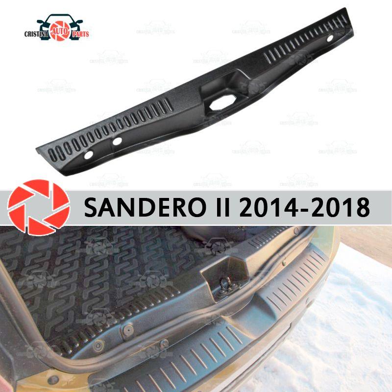 Abdeckung auf die sill stamm für Renault Sandero 2014-2018 stamm sill schritt platte inneren trim zubehör schutz auto styling