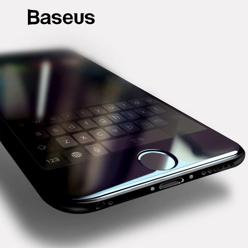 Baseus 3D Volle Bildschirm Gehärtetem Glas Für iPhone 6 6 s Screen Protector 0,3mm Dünne 9 H Schutz Glas für iPhone 6 6 s Plus Glas