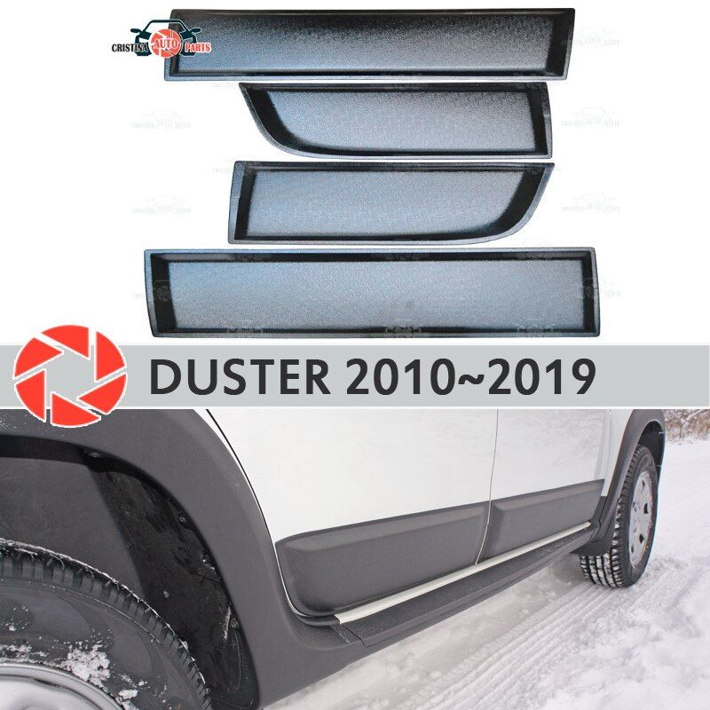Türen formteile für Renault Duster 2010-2019 schutzhülle kunststoff ABS schutz dekoration trim abdeckungen auto styling tuning