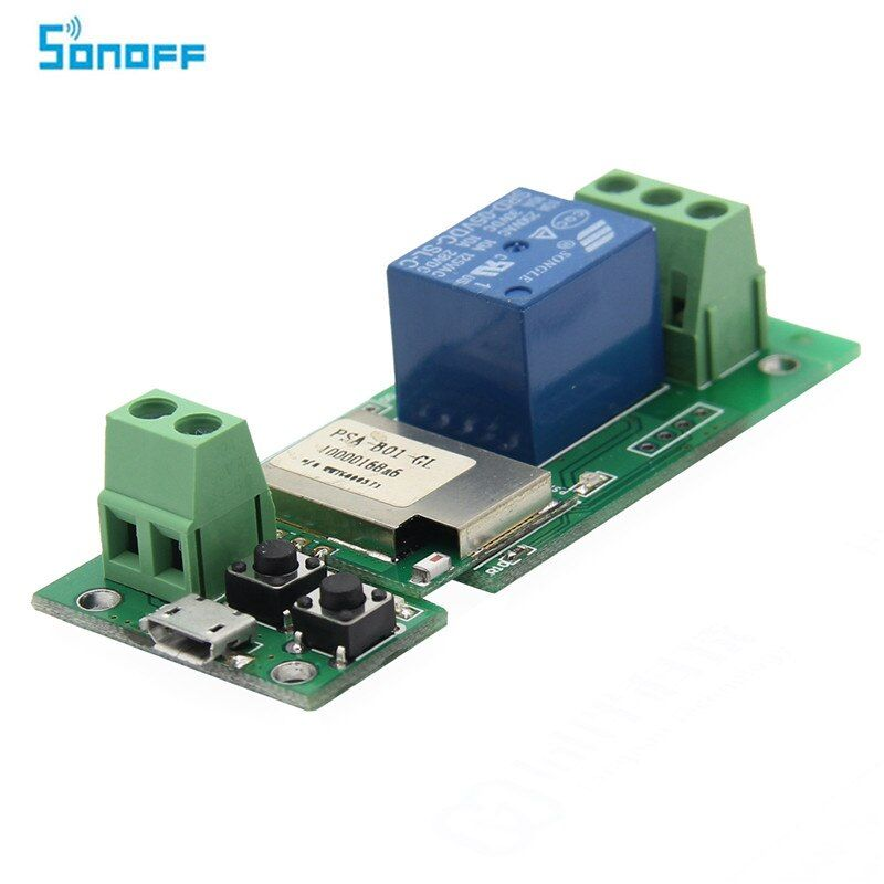 SONOFF USB 5 V DIY 1 Kanal Jog Tipp selbstsichernde WIFI Wireless Smart Home Schalter APP Fernbedienung Modul für IOS/Android