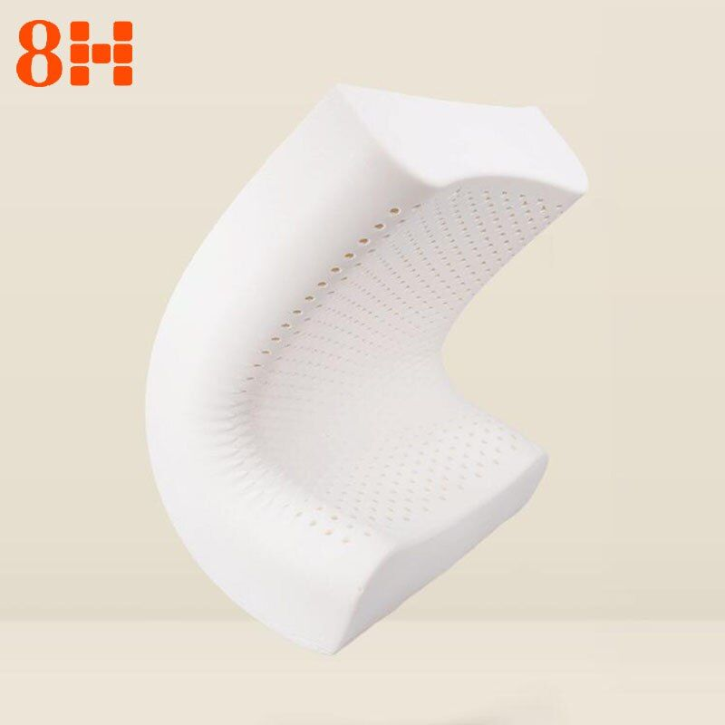 Original Xiaomi 8H Z2 Pillow Natural Latex Elastic Soft Pillow Neck Protection Memory Cushion Best Environmentally Safe Material