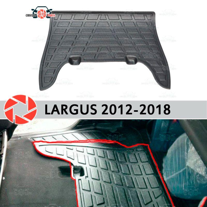 Pads auf die hinten sitze für Lada Largus 2012-2018 abdeckungen auf teppich sill trim zubehör schutz von teppich auto styling