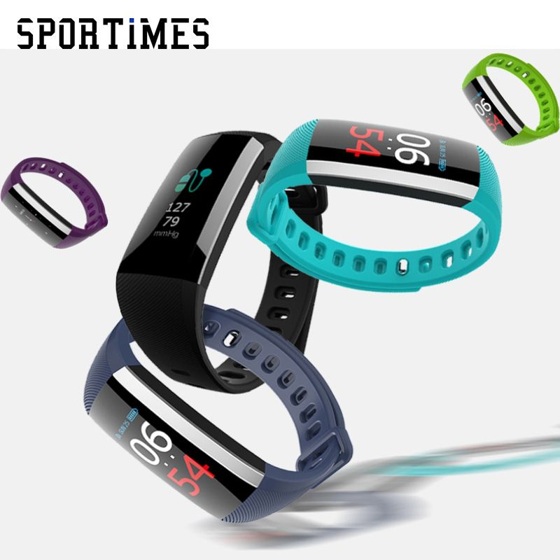 Smartband R19 with Colorful Screen Wireless USB Charge Waterproof support Heart Rate Fitness Tracker Smart Bracelet pk tezer
