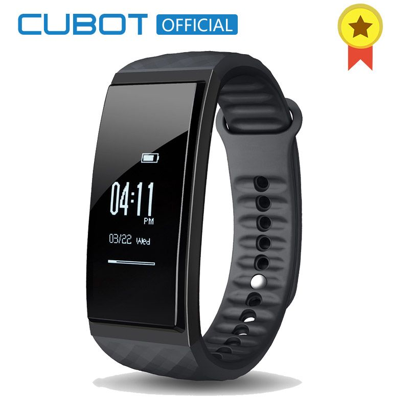 Cubot S1 Heart Rate Sleep Intelligent Monitor Wristband Multi-Mode Fitness Activity Tracker Bracelet for IOS and Android